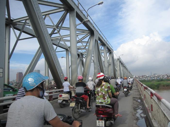 Chuong Duong bridge - Hanoi
