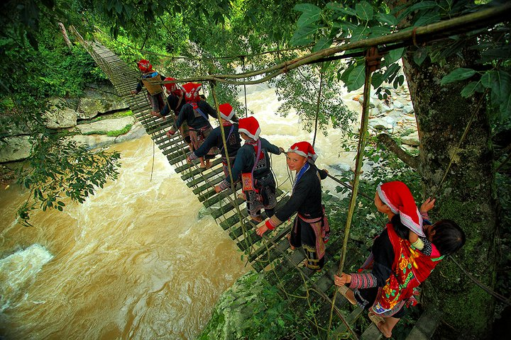 Rattan bridge - Sapa