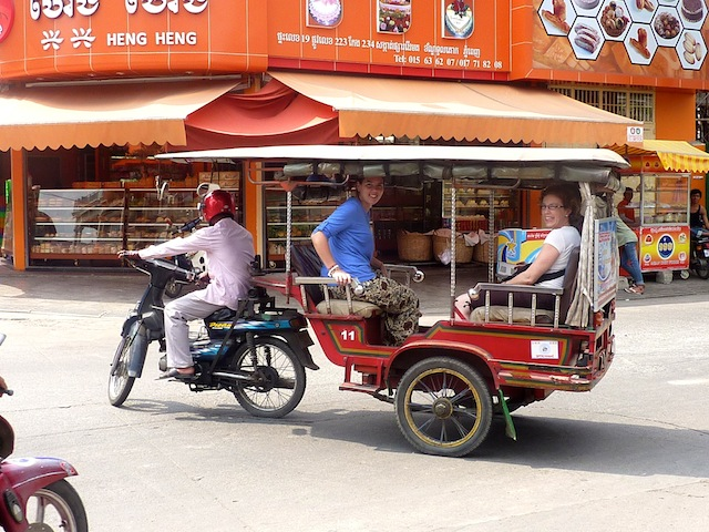 Tuk Tuk Tour in Phnom Penh