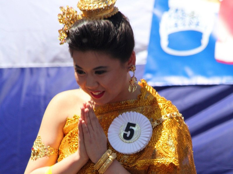 Sompiah -  the traditional way of greeting in Cambodia