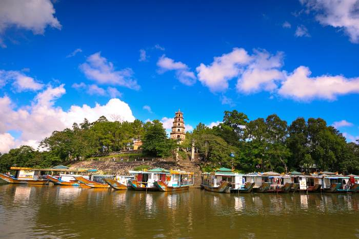 Thien Mu Pagoda - Top destinations in Vietnam